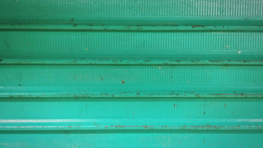 Tarapoto Colours #1 Green Turquoise Wall Minimal Parallel Lines