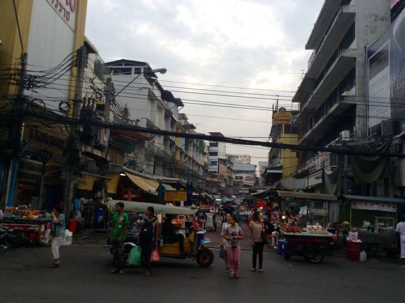 Thailand Chinatown People Big City Life Architecture Street Cable Day Mistic Bangkok Asian Culture Far Way Beautiful Place Real People