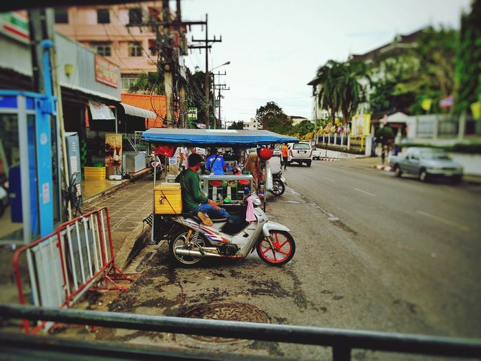 Scooter Taxi Spotted In Thailand Krabi Mobility In Mega Cities