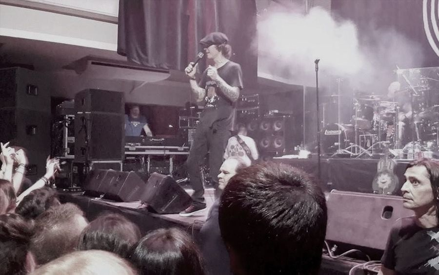 Him Hisinfernalmajesty Villevalo Liveinathens 01.08.2014 @StageVolume1