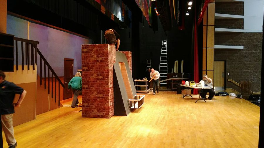 Setbuilding Musical Marypoppins
