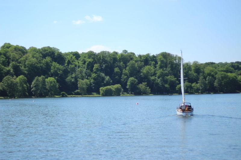 Baldeneysee Essen Nordrhein-Westfalen Boot Ruhe Water Outdoors Nature Sailing Lake No People Sky Day