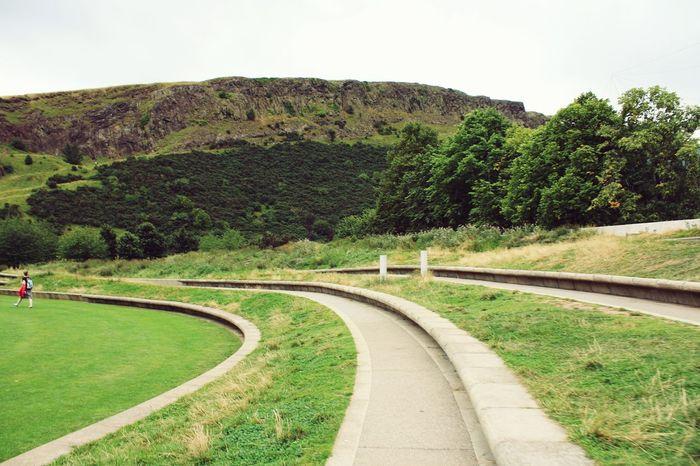 Scotland Landscape Classtrip2016 Edinburgh Green Nature Sky Nature Taking Photos