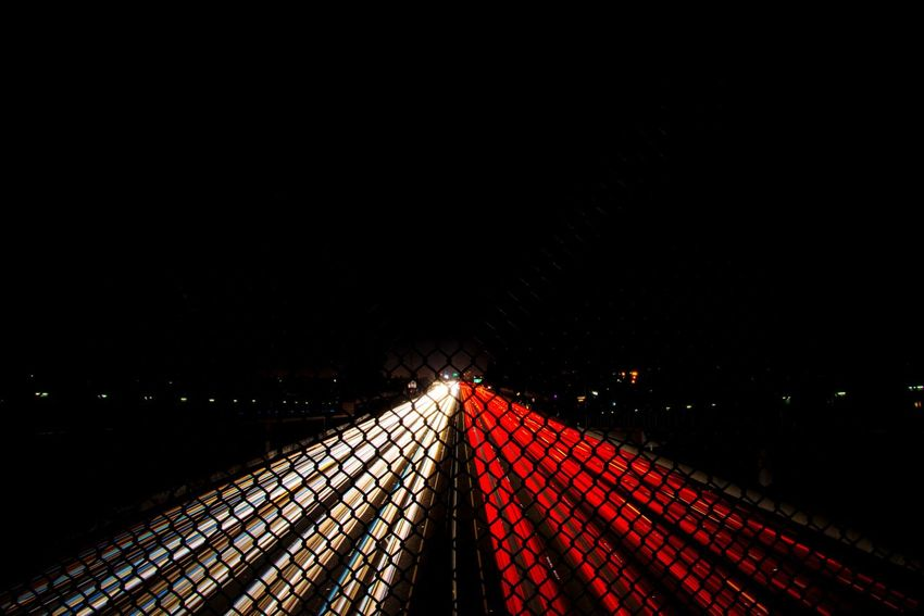 Union city Dark Speed Light Trail Night Motion Red Long Exposure The Way Forward First Eyeem Photo