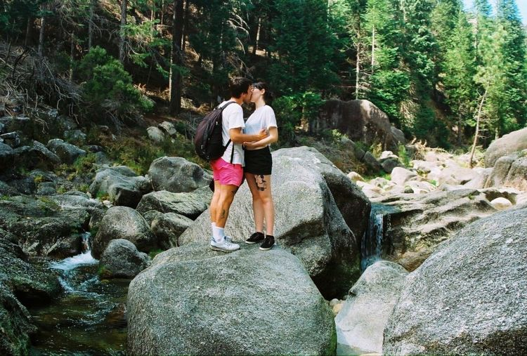 35mm Film Filmcamera Geres Love Couple Nature
