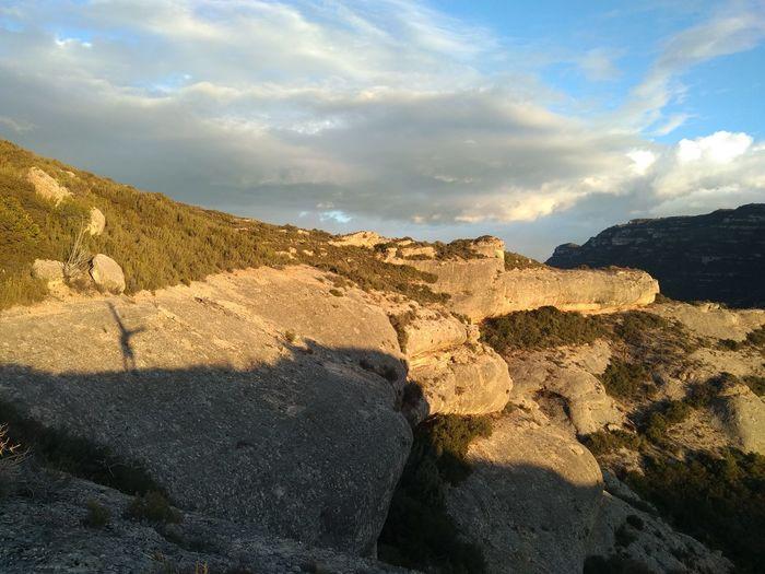 Adventure Girl Athletic Rock - Object Sunlight Cliff Sky Landscape Cloud - Sky Limestone Rock Formation