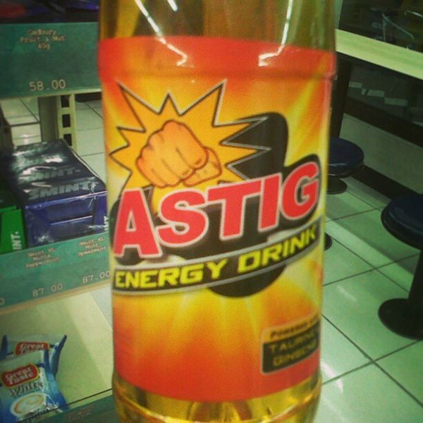 Astig energy drink Finds Whattaname Drinks ministop