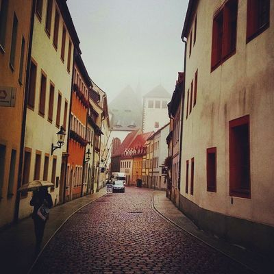 So typical Freiberg Saxony Sachsen Ig_deutschland Ig_germany Ig_europe Insta_international Insta_europe Oldcity Fog RainyDay Rain