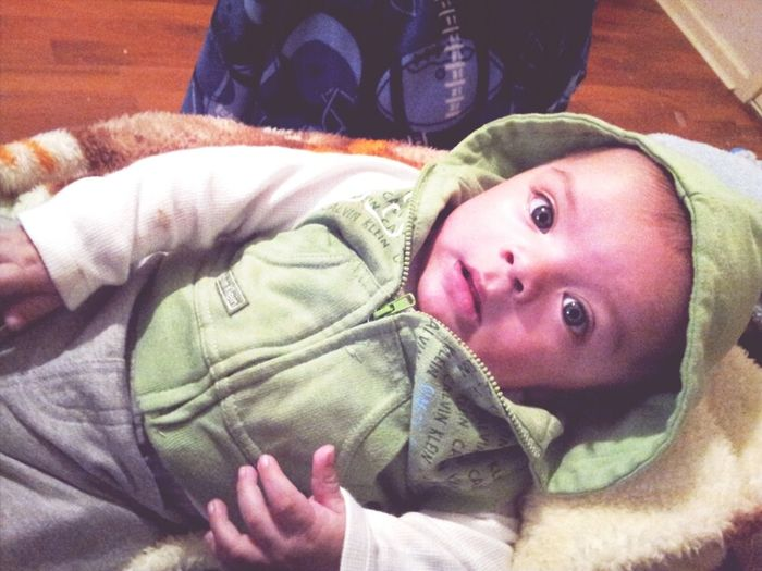 My Little Babe (cousin) Cute AF!! <3