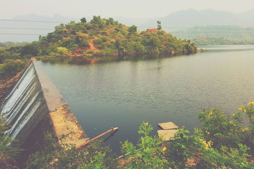Outdoors Day Water Sky Dam Reservoir Ranakpur No People Weather Nature Manmade Manmadestructures Windy