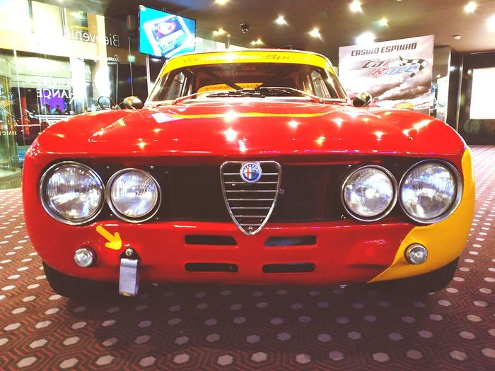 Alfa Romeo Car Cars Coche Vintage Vintage Cars Coches Antiguos, Coches Clasicos Coches Cars Alfaromeo Alfa Alfasport Red Car Headlight Front View