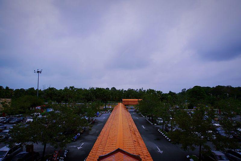 Carpark in Terengganu Terengganu Kuala Terengganu Malaysia The Way Forward Cloud - Sky Outdoors No People Sky Day Nature Beauty In Nature Tree Architecture