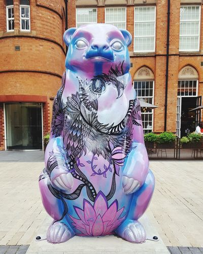 Outdoors Arts Culture And Entertainment No People Building Exterior Tourism Bear The Big Bear Sleuth 2017 Birmingham