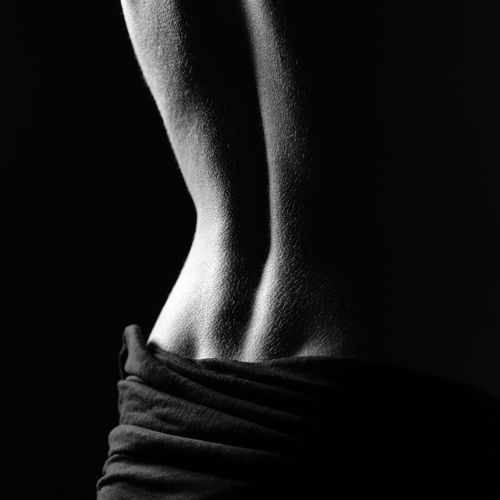 Abstract Photography Abstract Abstract Art Adult Back Black Background Close-up Day Human Back Human Body Part Human Leg Low Section One Person People Real People Standing Studio Shot