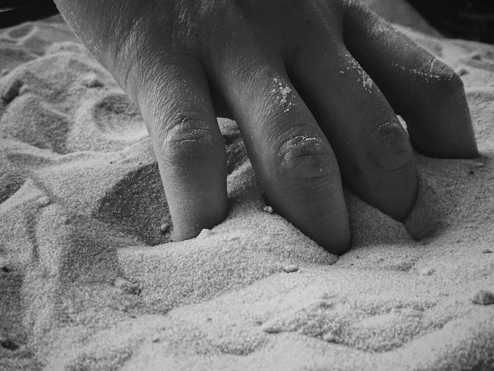 Human Body Part Real People Body Part Young People Baby Hand Women Human Hand Sand Finger