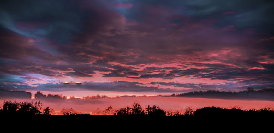Abstract Atmosphere Atmospheric Mood Cloud Cloud - Sky Cloudscape Cloudy Dramatic Sky Moody Sky Silhouette Sunset