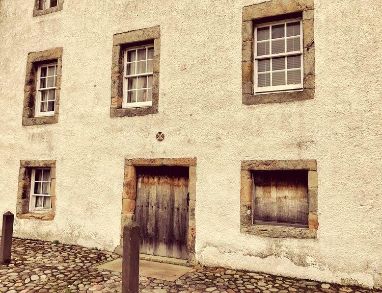 Culross. Outlander. Old Scots building.