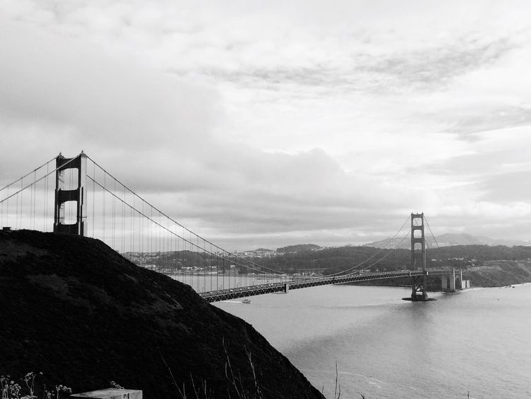 Portrait Of America Golden Gate Bridge... It was my first time to see the GoldenGateBridge 😊