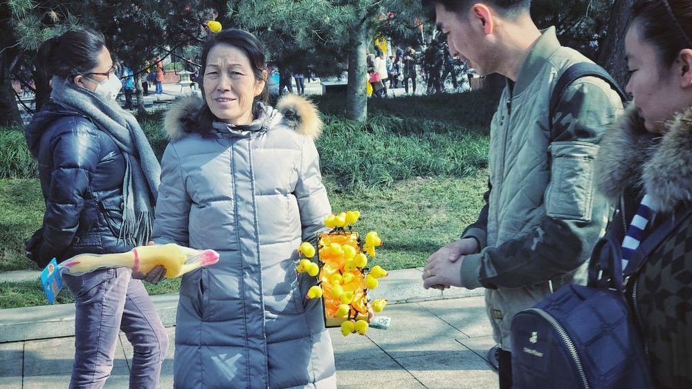 Street Seller Spring Festival