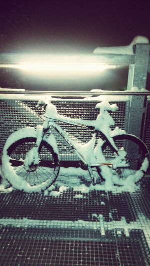 Winter Biking Bike