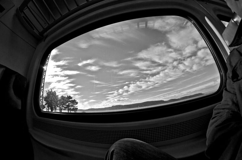 The voyager & his fisheye westchester NY.