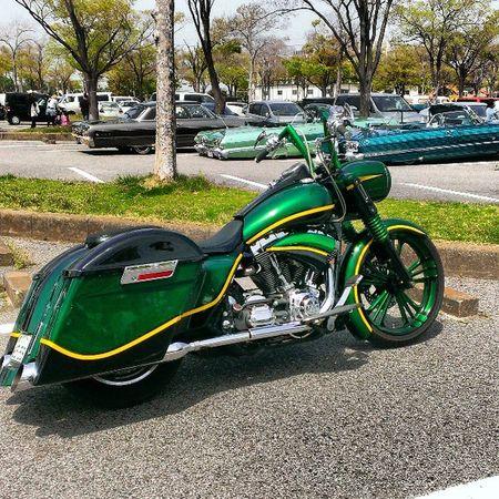 getbuys swap meet parking Harleydavidson Bagger Baggerstyle Lowridercar