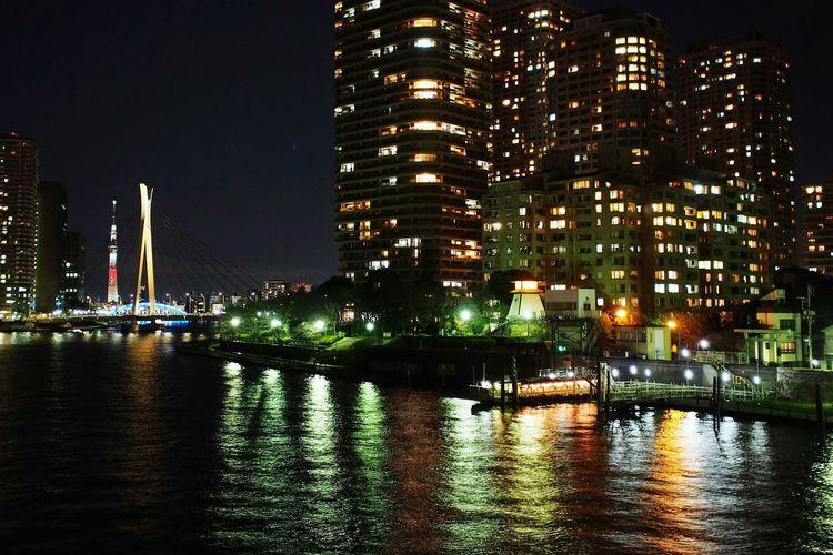 東京スカイツリー Tokyo Sky Tree The Night View