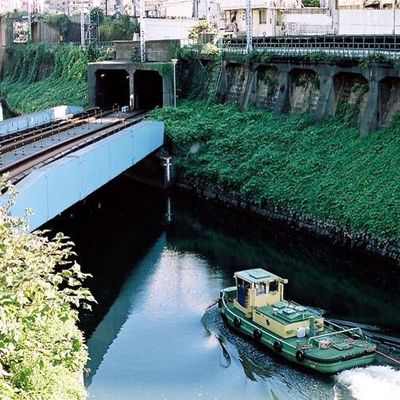 Japan Tokyo River Film Filmstagram Filmcommunity 35mm VSCO Vscocam City Contax Cymera Contaxt3 Cymeraapp Trip T3 Travel