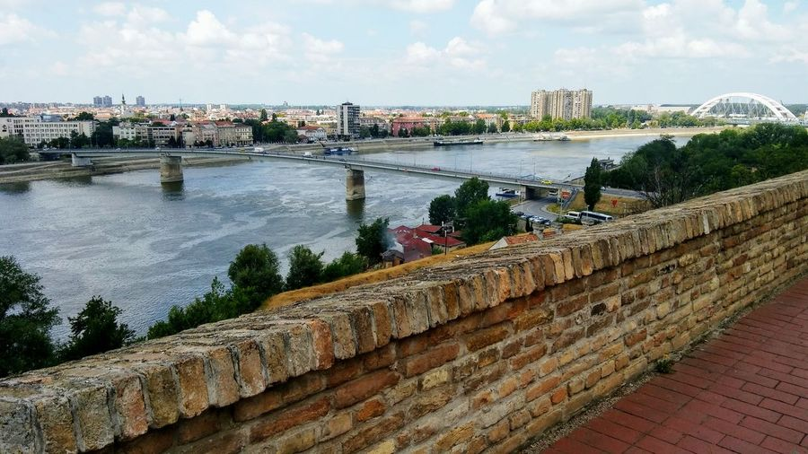 Novi Sad,view from fortress Novi Sad Serbia Petrovaradin Fortress River Danube City Cityscape City View  Cityphotography View From Fort Outdoors Outdoor Photography