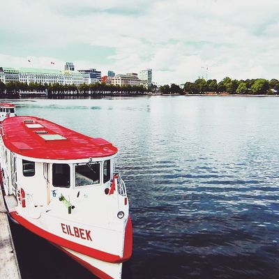 An afternoon stroll by the Alster Lake in Hamburg, Germany. (August 2014)