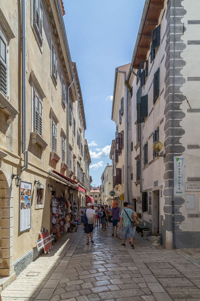 Poreč streets... Croatia Holiday Holidays Porec, Croatia Poreč Street Poreč Streets Travel Architecture Building Exterior Built Structure City Croatian Town Day Full Length Men Narrow Street Narrow Streets Outdoors People Porec Real People Sky Street Walking Women