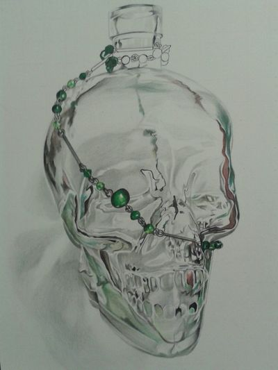 Skulls Check This Out Art Awesome drawing of my keeper of rum......the rum skull