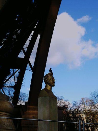Hello World Gustave Eiffel Corneille Taking Photos Enjoying Life Holidays In Paris Tour Eiffel With My Daddy
