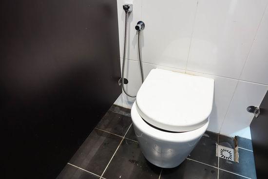 Interior of public toilet. Toilet Clean Hygine Indoors  Interior No People Rest Room