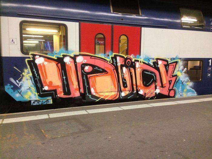 those FKS trainz Graffiti Art Fks Trainbomb