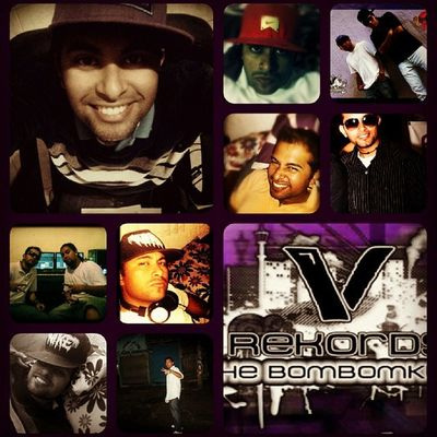 Its me V.G.K!! Collage Purple Verzatyn
