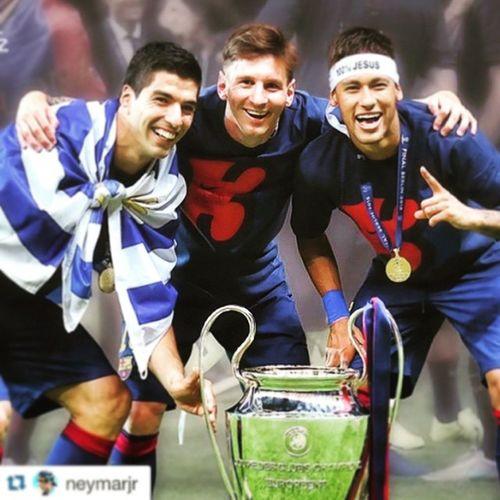 Barça UEFA_Champions Best_Trio Msn Picoftheday Instasoccer