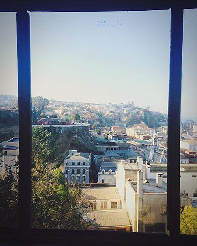 Vista desde ascensor El Peral la maravilla de Valparaíso y sus calles, una perspectiva diferente... Chile Old Iphoneonly IPhoneography