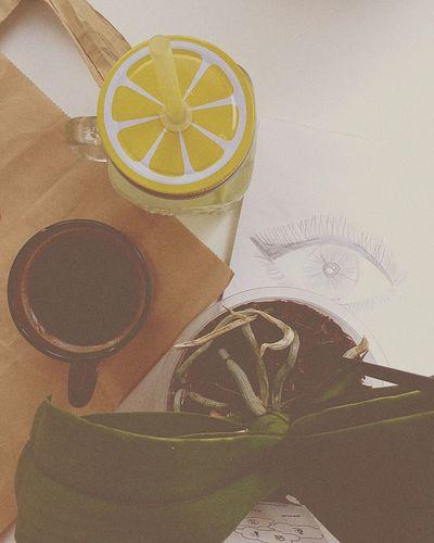 Coffee Lemon&lime Sketchbook пленка Roman Numeral Colorful