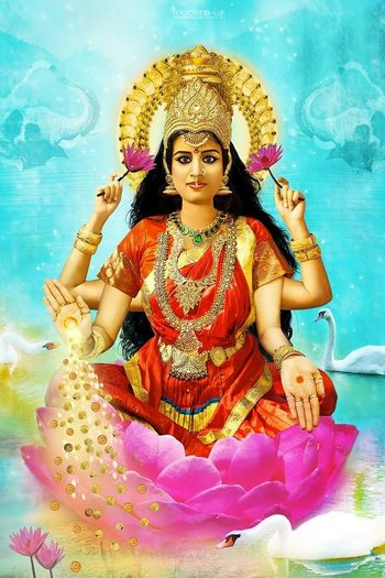 RePicture Wealth Lakshmi Goddess of Wealth