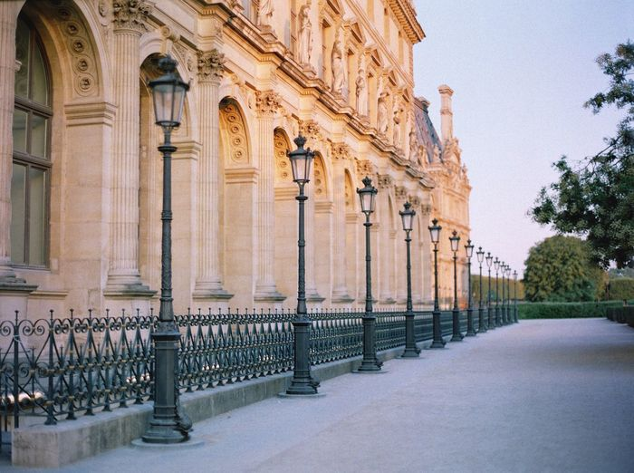Louvre EyeEm Film Photography Paris Fuji400h Pyramide Du Louvre Architecture Built Structure Building Exterior Building No People The Past Day History In A Row Travel Destinations Outdoors Travel