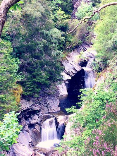 Shot at the upper falls / wait until I load my camera photos not iPhone Waterfall Falls Of Bruar Long Exposure