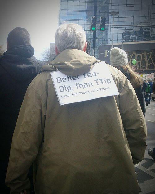 TTIP Protest, Hannover, Germany. Ttipdemo Ttip