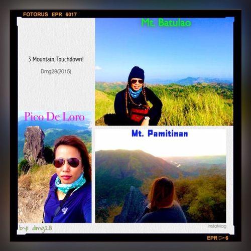 Hiking Adventures of Meeeh! 3 mountains Touchdown Summit Peak Unforgetable Memoryforever LuvIt Iluvu (2015)