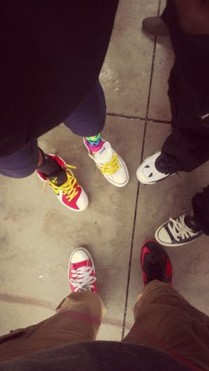 @Dessy__ @imJB & Our Shoe Game