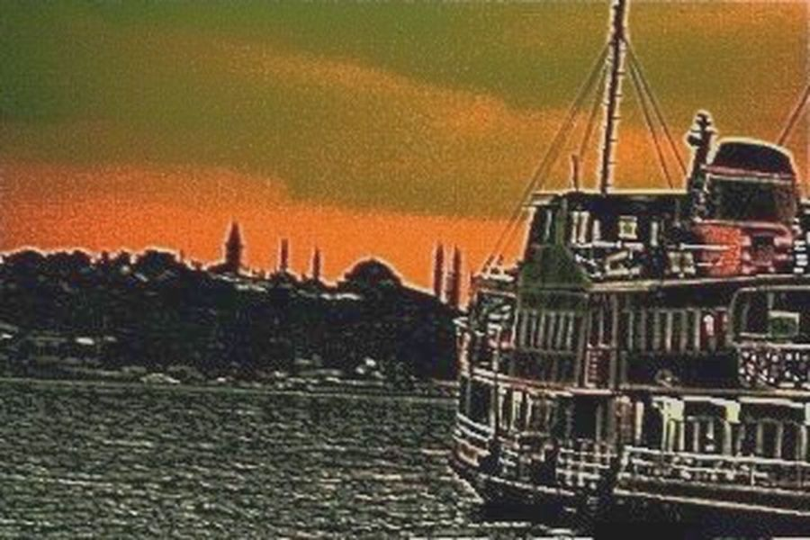 Ferryboat April Showcase Istanbul Sirkeci Art EyeEm Gallery Outdoors Fineart Week On Eyeem Eye4photography  Sea_collection Sea And Sky Bosphorus Turkey Travel Outdoor Photography Onthe Road Ontheway Love ♥ Sea Nature Abstract Our Best Pics No People Fineartphotography