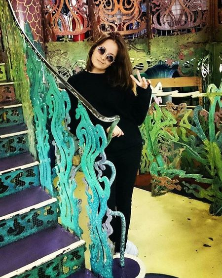 Still loving this place. Thehippyhole Psychedelic Shop Colourful Color Stairs Girl Peace Sunglasses Liverpool England Renshawstreet Grandcentral Beautiful Psicodelico Hippie 70s