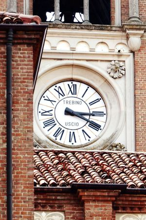 Italy🇮🇹 Montforte D'alba Church Clock Tower CityLook Street Photography Colourful Colour Of Life, Colour Palette Taking You On My Journey 😎 Fine Art Photography Details Of My Life Fine Art Feel The Journey Look Up And Take A Picture📸 Houses Architecture Architectural Detail View Over The City