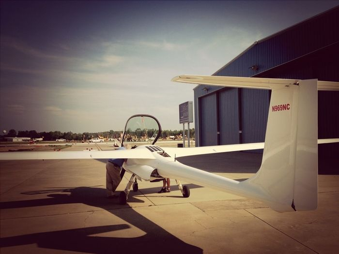 The Stemme S6 glider Work Shots
