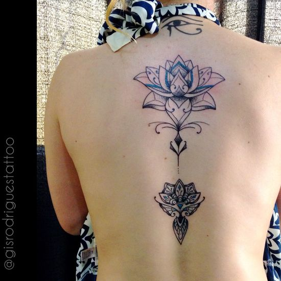 Lotus Ornamental... Lotus Ornamentaltattoo Blackworktattoo Tattoo Tatuagem Gisrodriguestattoo Blackdynasty